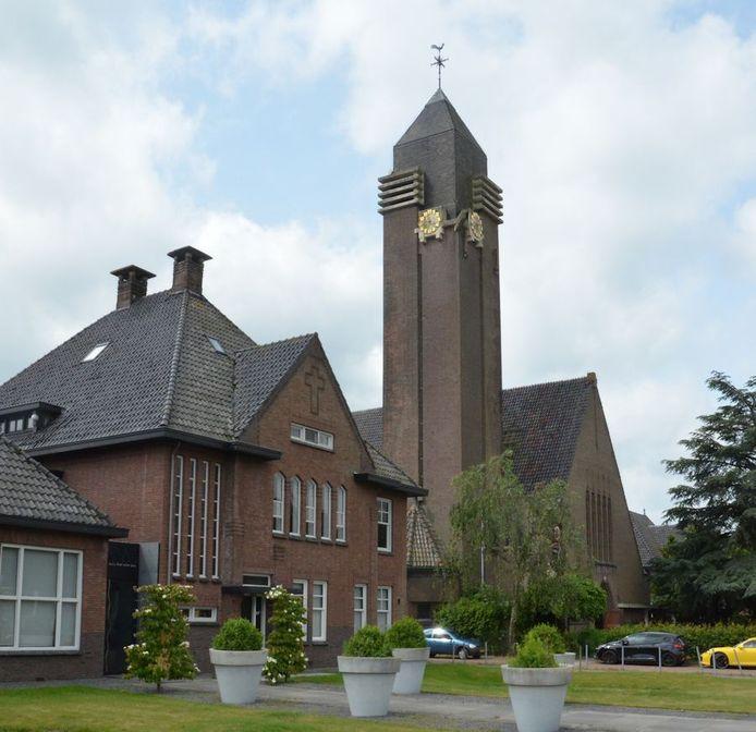 Kerk Liesbos, ontwerp Jac Hurks.