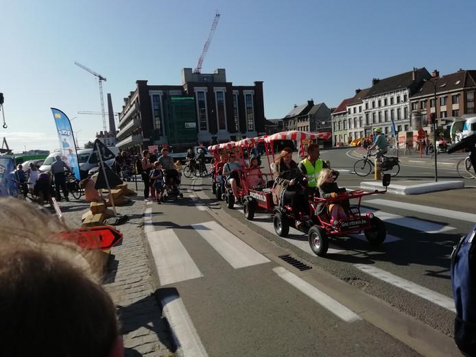 Belgische steden als Brussel en Gent (foto) kennen al een autoloze zondag.