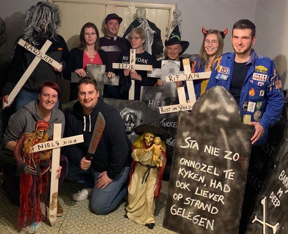 Voor hun derde Halloweentocht slaan de organisatoren dit jaar de handen in elkaar met KSA Eksaarde.