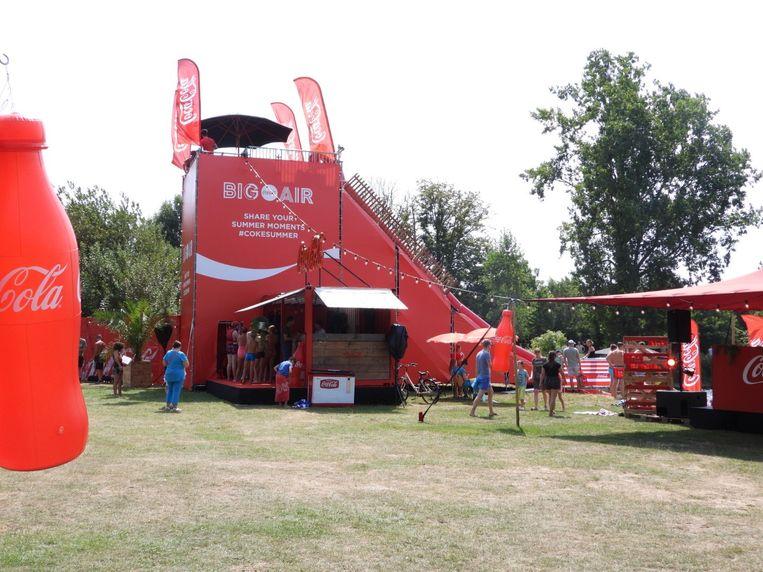 De Coca-Cola Big Air is nog het hele weekend te bezoeken in Brugge