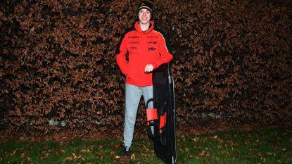 Met 135 kilometer per uur over ijsbaan: Colin (17) tiende bij skeleton op Jeugd Winterspelen
