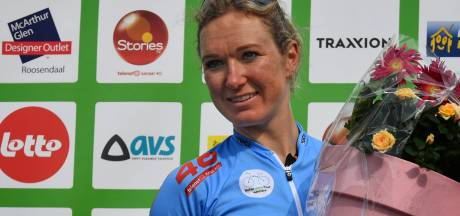 Amy Pieters start zaterdag in Sluis in de leiderstrui van de BeNeLadies Tour