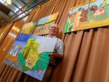Volle kerken voor schilderende diaken Bastiaansen uit Fijnaart