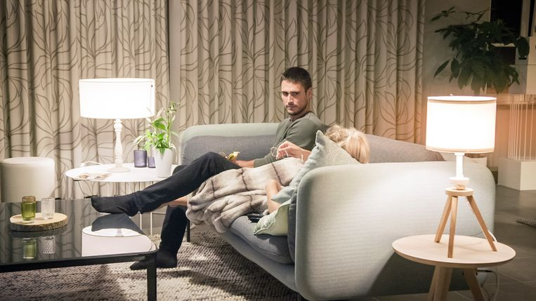 Blind Getrouwd; seizoen 5, aflevering 6 op zondag 22 maart 2020 bij VTM. Op de foto: Sonny & Laura