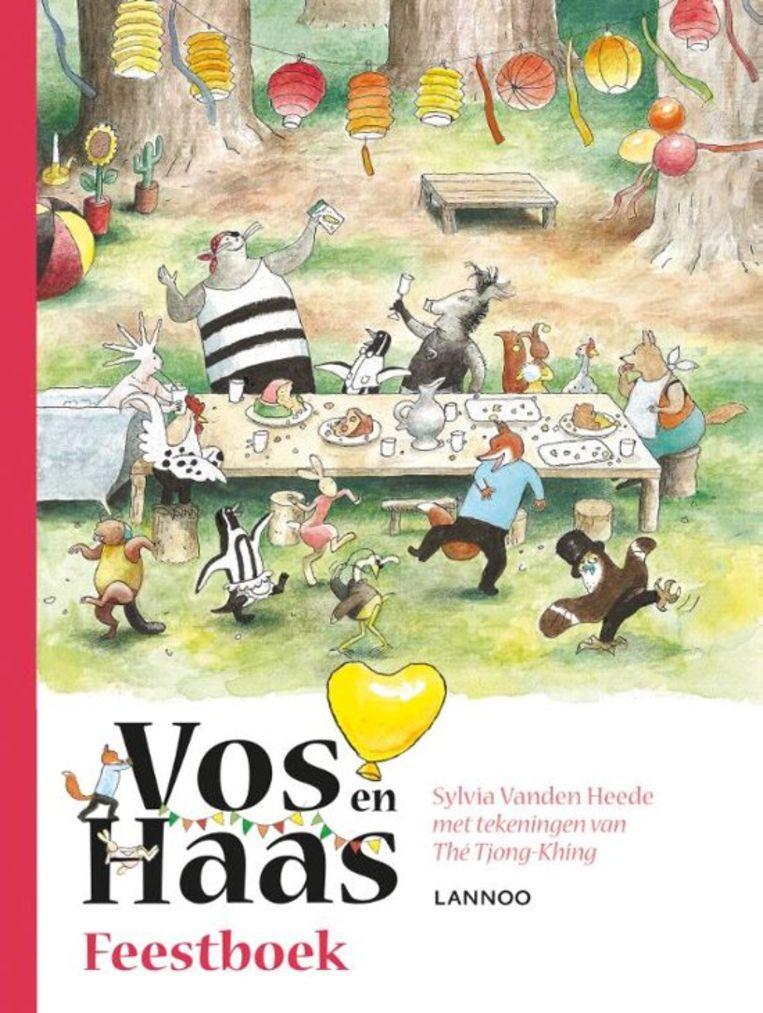 Sylvia Vanden Heede en Thé Tjong-Khing  Feestboek  Lannoo  14,99 (****)  Vanaf 6 jaar Beeld