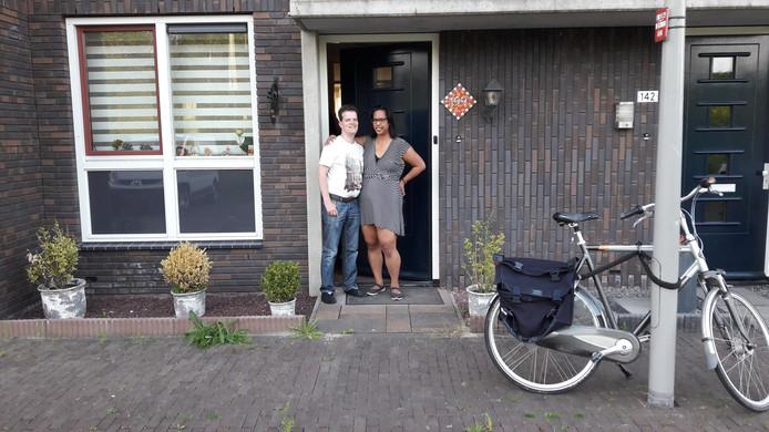 Daniël Ceelen en echtgenote Annemarieke wonen sinds 2012 in een koopwoning in het Singelkwartier in Schuytgraaf.
