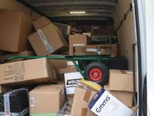 Veel overtredingen bij bezorgen van pakketjes: politie houdt controles in oosten van Brabant