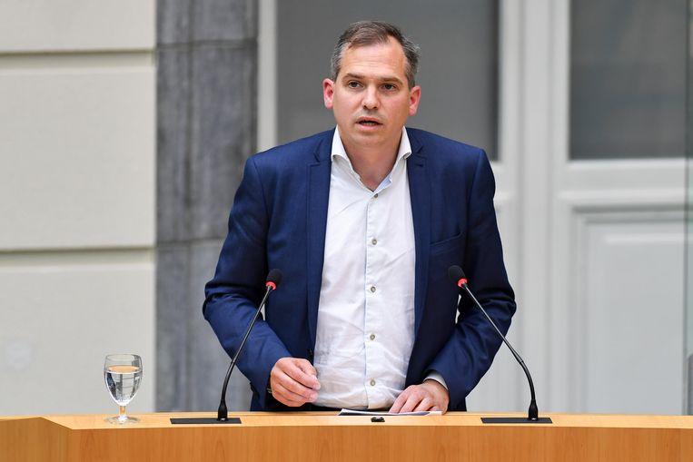 Matthias Diependaele blijft ook de komende vijf jaar N-VA-fractieleider.