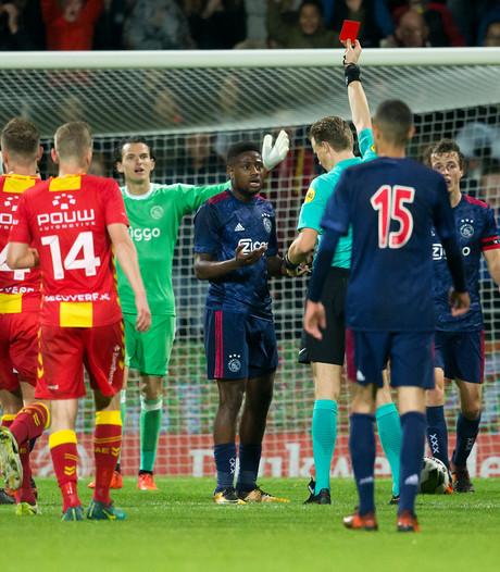 Jong Ajax loopt bij Go Ahead tegen zeperd op