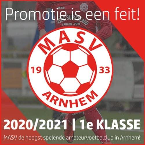 MASV promoveert