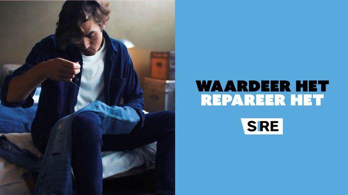 Een beeld uit de Sire-campagne. De meeste spullen zijn niet zo gemakkelijk te repareren als een kapotte spijkerbroek.