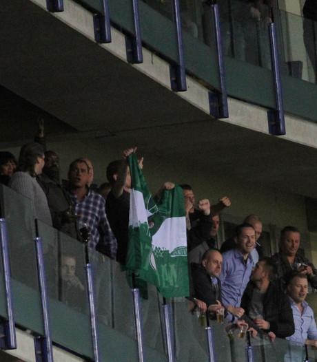 Onbegrip en woede aanhang Vitesse na duel met Feyenoord