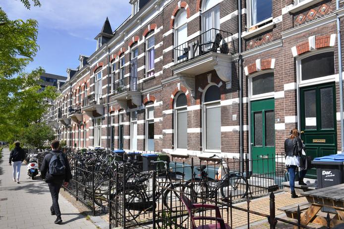 Nijmegen/Nederland: van oldenbarneveltstraat 26-28-30Dgfotofoto: Bert Beelen