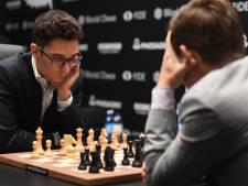Zesde remise Carlsen en Caruana