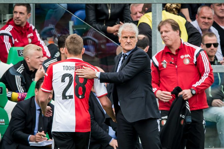 Rutten was ook trainer van Feyenoord.