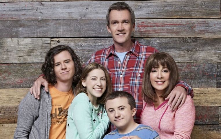 De cast van 'The Middle'.