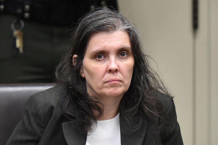 Louise Turpin in de rechtbank.