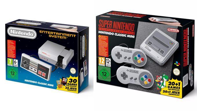 Nintendo levert extra mini-SNES-consoles én herlanceert mini-NES