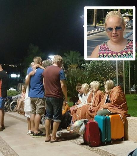 Lindsay uit Losser beleeft angstige huwelijksreis op Kos: 'Absoluut geluk gehad'