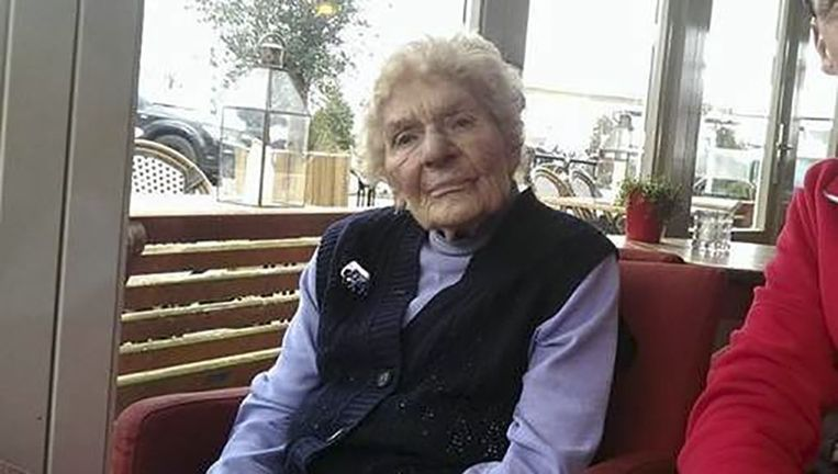 Oma Toni. Beeld Facebook