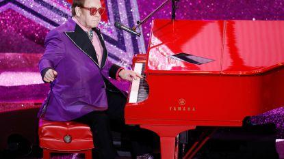 Zieke Elton John moet abrupt concert afbreken