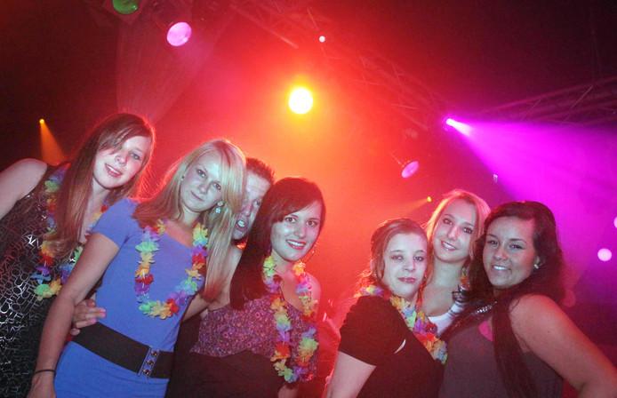 Feest in Club Rodenburg.