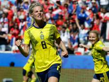 Zweden wint met 'slechts' 5-1 van Thailand en bereikt volgende ronde
