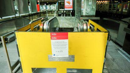 Roltrappen in MIVB-stations minder vaak defect