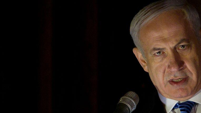 De Israëlische premier Netanyahu Beeld AP