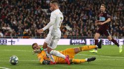 Wederoptredende Eden Hazard versiert strafschop, maar ziet Real in extremis zuur puntenverlies lijden tegen Celta