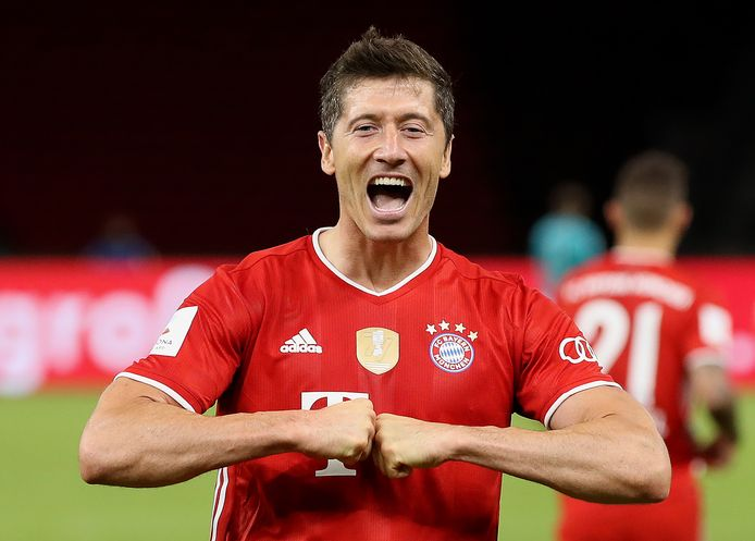 Robert Lewandowski speelt komende vrijdag met Bayern München tegen FC Barcelona.