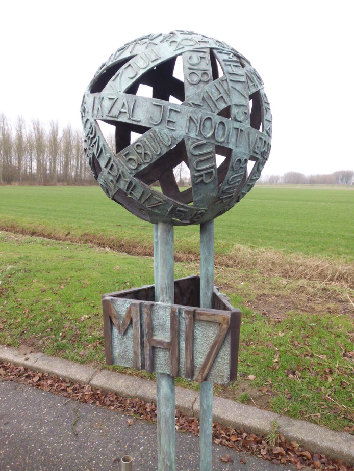 De Verbinding, een MH17-gedenkteken dat bij Eindhoven een plek moet krijgen.