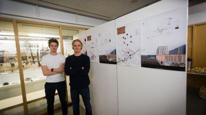 Studenten Architectuur ontwerpen efficiënter industrieterrein