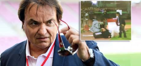 Zwitserse clubbaas slaat tv-analist neer