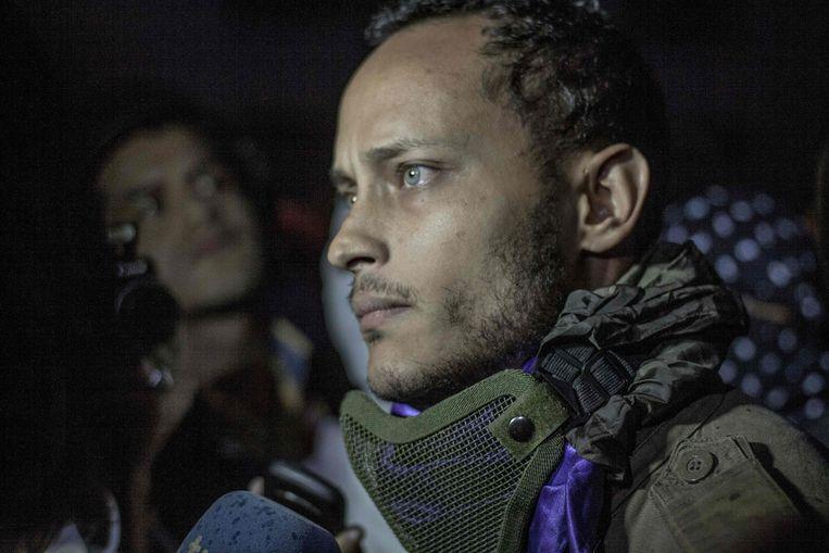 Oscar Perez leidde het clandestiene verzet tegen het socialistische regime van president Nicolas Maduro.