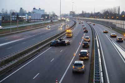 A27 en A59 weer vrij ongevallen rondom knooppunt Hooipolder