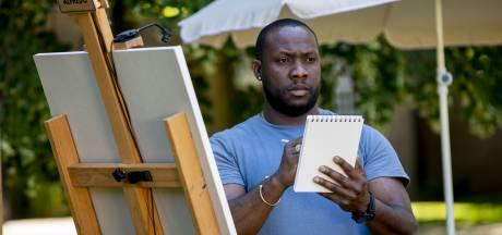 Alfrédo (40) uit Ermelo hervindt liefde voor schilderen via Project Rembrandt: 'Op Aruba droom opgegeven'