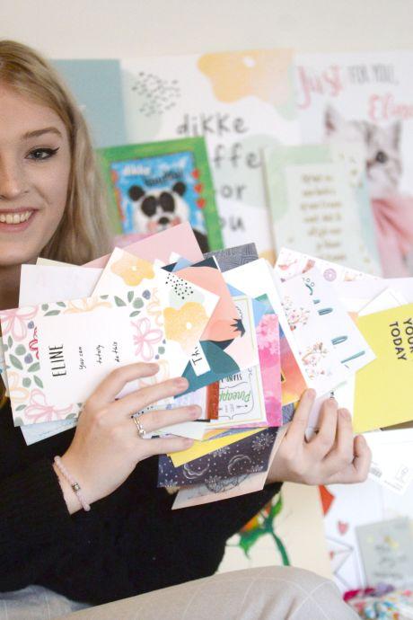 Hengelose Eline overstelpt met kaartjes in haar strijd tegen 'het perfecte plaatje'