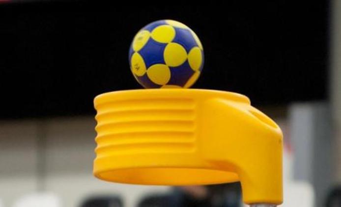 Punt tijdens korfbal.
