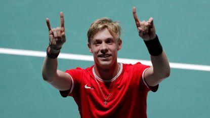 Canada is eerste kwartfinalist in Davis Cup