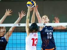 Volleybalsters verliezen in kwartfinale EK in drie sets van Turkije