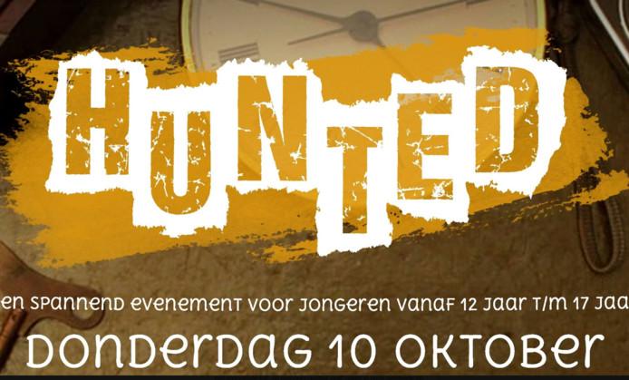 Het kat-en-muisspel Hunted wordt vanavond in Olst-Wijhe gespeeld.