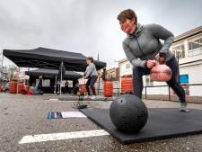 Fitness met tweetallen op parkeerplaats in acht partytenten: het mag in Arnhem