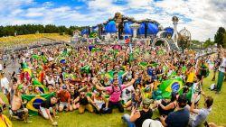 VIDEO. Alle Brazilianen troepen samen op Tomorrowland en zetten de boel op stelten