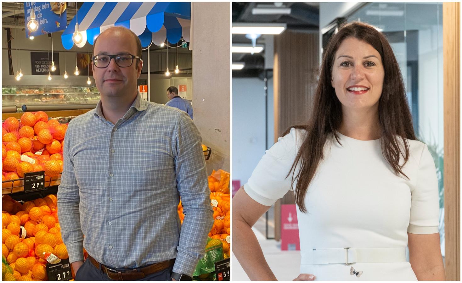 Bart Hofmans (41) en Kelly Grooteman (38) begonnen allebei onderaan de ladder en zijn nu manager en directeur.
