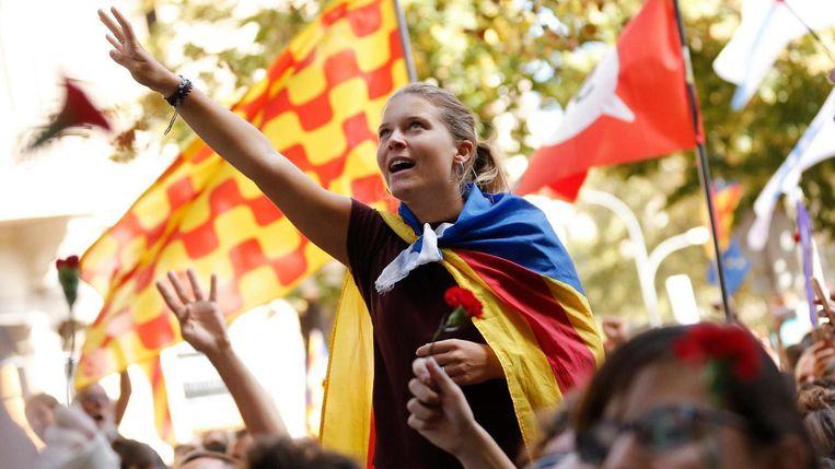 Catalonië onafhankelijk? Niet als het aan Spanje ligt. Beeld afp
