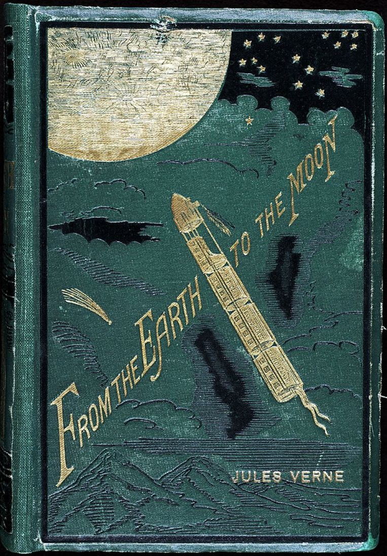 Jules Verne's 'From the Earth to the Moon' Beeld TRBEELD