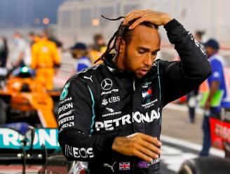 Lewis Hamilton neemt na coronabesmetting z'n plek weer in op de F1-grid voor slotrace van het seizoen