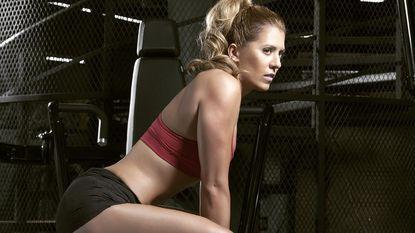 Zo eet en sport een professioneel bikini-atlete