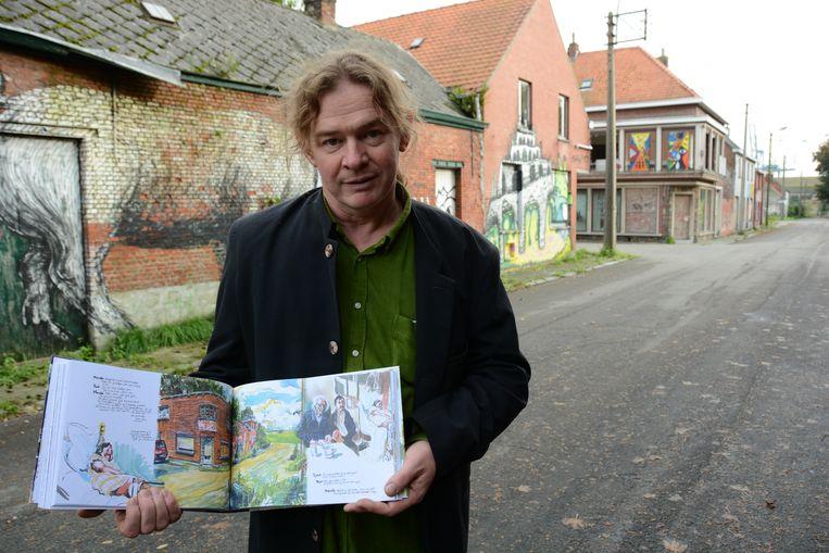 Striptekenaar Jeroen Janssen volgde Marcella acht jaar lang en maakte van haar het hoofdpersonage in een graphic novel.